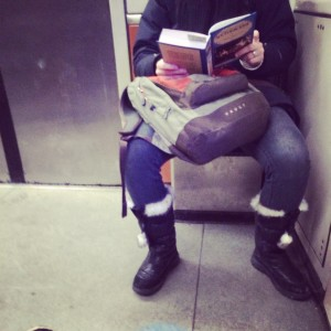 leitura no metro