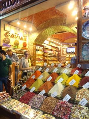 istambul Grande Bazar viagem