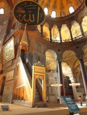 istambul SANTA SOFIA a igreja da Santa Sabedoria 3